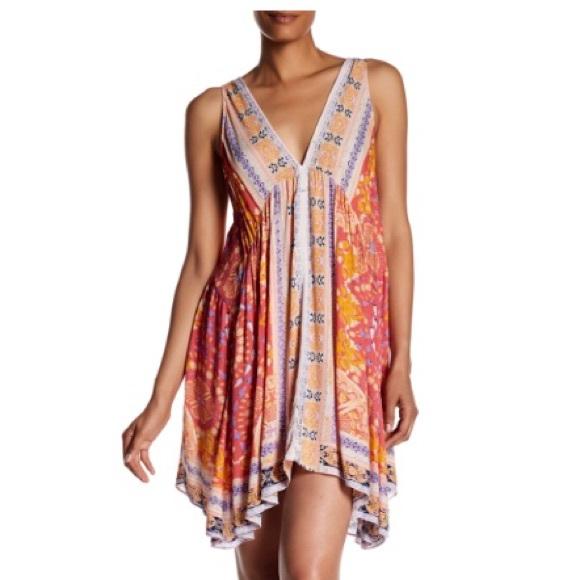 b215259d0d54 Free People Dresses   Nwt Gypsy Trapeze Slip Dress M   Poshmark